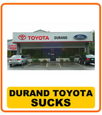 Durand Toyota Ford Sucks