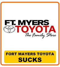 Fort Myers Toyota Sucks