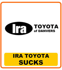 Beautiful Ira Toyota Of Danvers Sucks