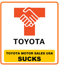 Toyota Motor Sales Sucks
